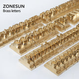 ZONESUN 184PCS Alphabet Letter Set Brass Stamp For Custom Initials - ZONESUN TECHNOLOGY LIMITED