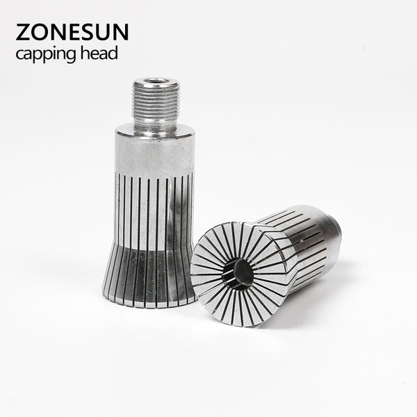 ZONESUN Capping Head for new Perfume Cap Crimping Machine Capper Metal Cap Press Capping Machine - ZONESUN TECHNOLOGY LIMITED