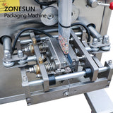 ZONESUN ZS-K100 Automatic Granule Filling Sealing Machine For Oatmeal Nut Packing Machine - ZONESUN TECHNOLOGY LIMITED