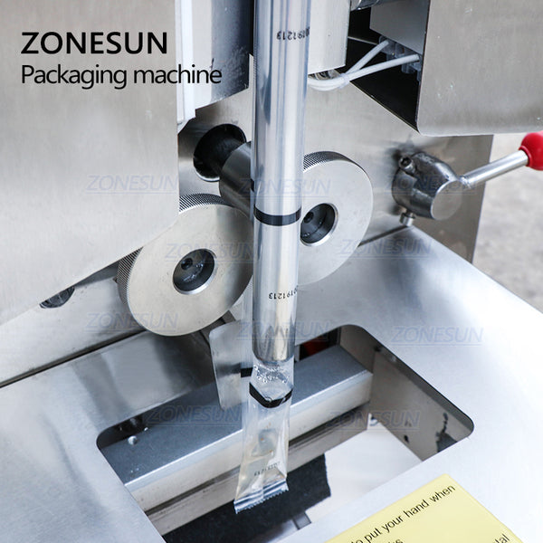 ZONESUN ZS-S100 Automatic Water Liquid Packaging Filling Sealing Machine For Jam Ketchup - ZONESUN TECHNOLOGY LIMITED