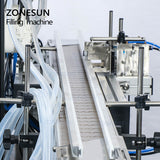 ZONESUN ZS-YT80C Peristaltic Pump Liquid Perfume Filling Machine For Cosmetics Jar Bottle - ZONESUN TECHNOLOGY LIMITED
