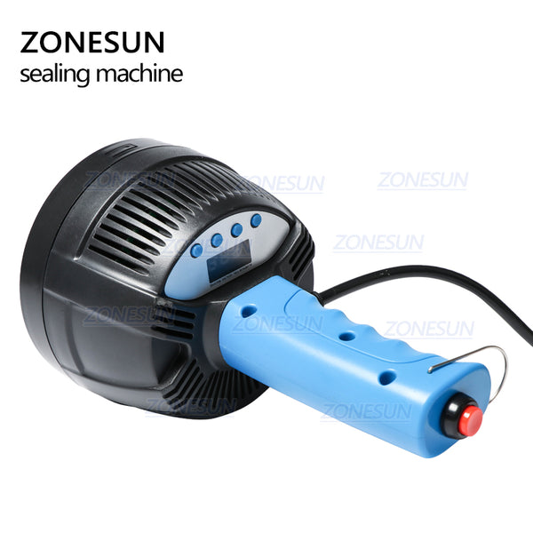 ZONESUN 20-100mm Hand Held Electromagnetic Induction Sealer Honey Plastic Glass Bottle Cap Tin Aluminum Foil Sealing Machine - ZONESUN TECHNOLOGY LIMITED