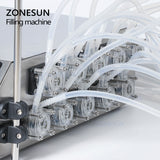 ZONESUN 10 Heads Perfume Vial Oral Liquid Filling Machine For Solvent Essential Oil - ZONESUN TECHNOLOGY LIMITED