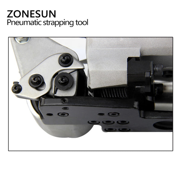 ZONESUN Wholesale XQD-25 Pneumatic Plastic Strapping Packing Tool For PET 12-25mm - ZONESUN TECHNOLOGY LIMITED