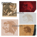 ZONESUN Custom Logo Brass Stamp For Foil Stamping Leather Wood Bread Food - ZONESUN TECHNOLOGY LIMITED