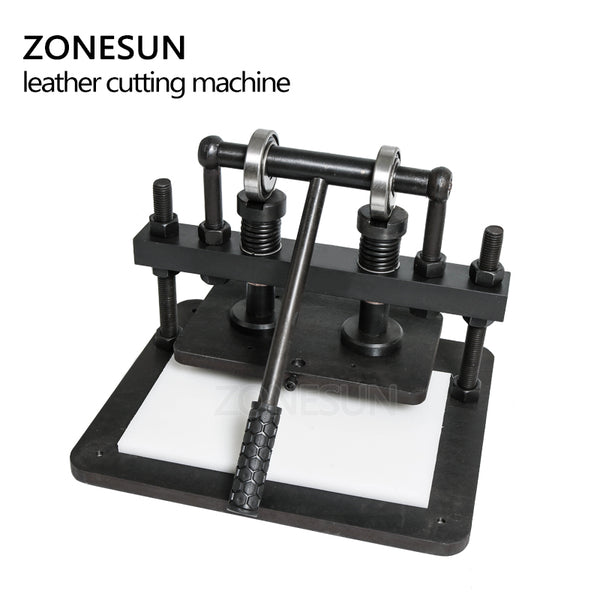 ZONESUN 2616cm DIY handbag Manual leather cutting machine photo paper PVC/EVA sheet mold cutter leather Die cutting tool Craft - ZONESUN TECHNOLOGY LIMITED