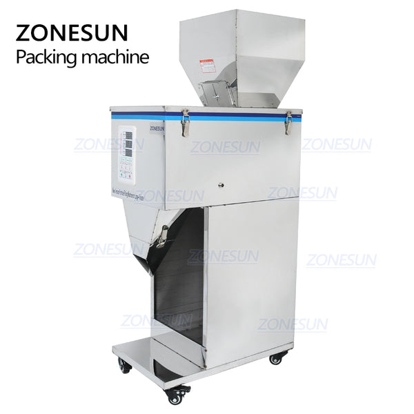 ZONESUN Food Racking Machine Granular Powder Materials Weighing Packing Machine Filling Machine 1-1000g For Seeds Coffee Bean - ZONESUN TECHNOLOGY LIMITED