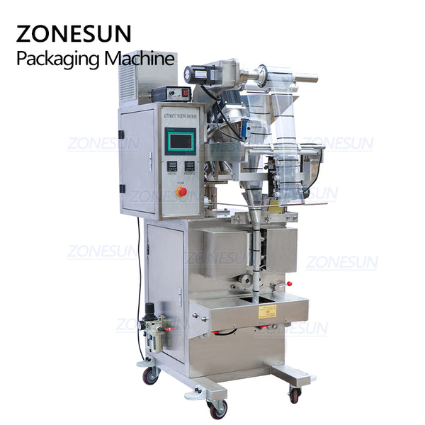 ZONESUN ZS-F100 Automatic Powder Filling Sealing Machine For Curry Matcha Powder Packaging Machine - ZONESUN TECHNOLOGY LIMITED