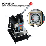 ZONESUN Manual Hot Foil Stamping Machine Leather Logo Embossing Machine - ZONESUN TECHNOLOGY LIMITED