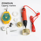 ZONESUN Portable Manual Electric Glass Water Perfume Shampoo Cosmetic Bottle Capping Machine - ZONESUN TECHNOLOGY LIMITED