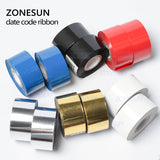 Thermal ribbon of ribbon printing machine, 30*100m, date printing ribbon for plastic and paper - ZONESUN TECHNOLOGY LIMITED