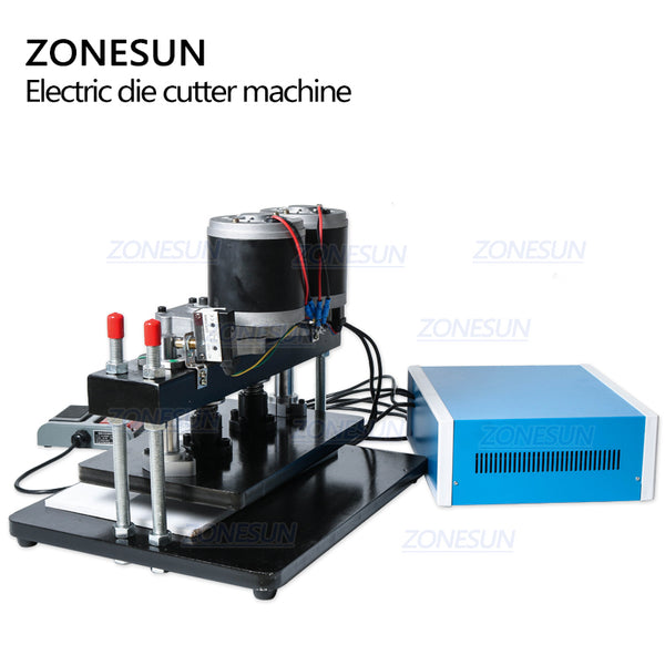 ZONESUN 35x22cm Electrical Leather Die Cutting Machine Photo Paper Pvc/Eva Sheet Mold Cutter Die Cutting Tool For Clicker Die - ZONESUN TECHNOLOGY LIMITED