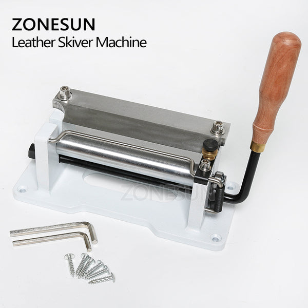 ZONESUN Leather Skiving Machine Strap Splitter Handle Peeling Machine - ZONESUN TECHNOLOGY LIMITED