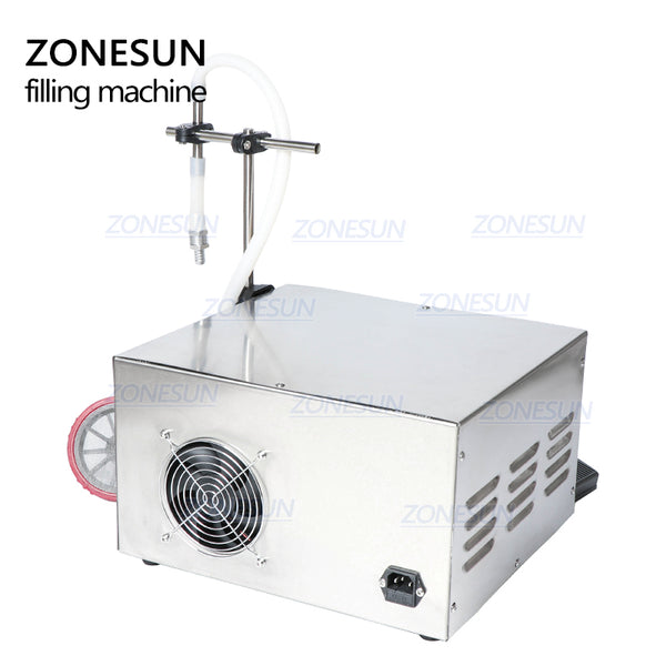 ZONESUN GZ-GFK17B Semi Automatic Filling Machine Laundry Cooking Oil Water Juice Milk Liquid Bottle Filling Machine - ZONESUN TECHNOLOGY LIMITED