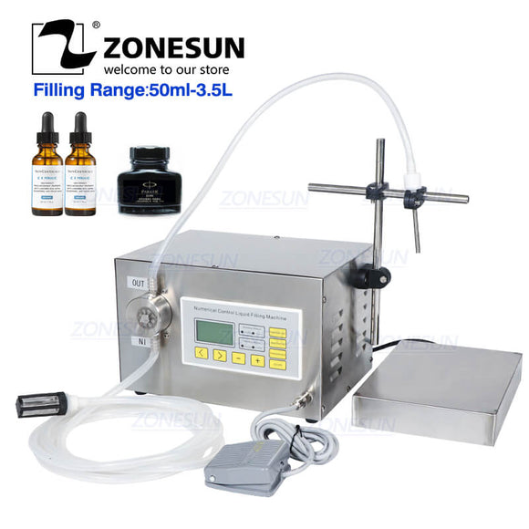 single nozzle magnetic pump filling weighing machine