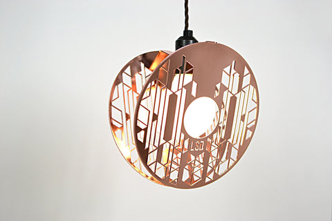 HALOS - COPPER PENDANT LIGHT LEG STUDIOS