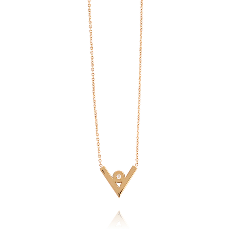 19.2K Gold Diamond Necklace