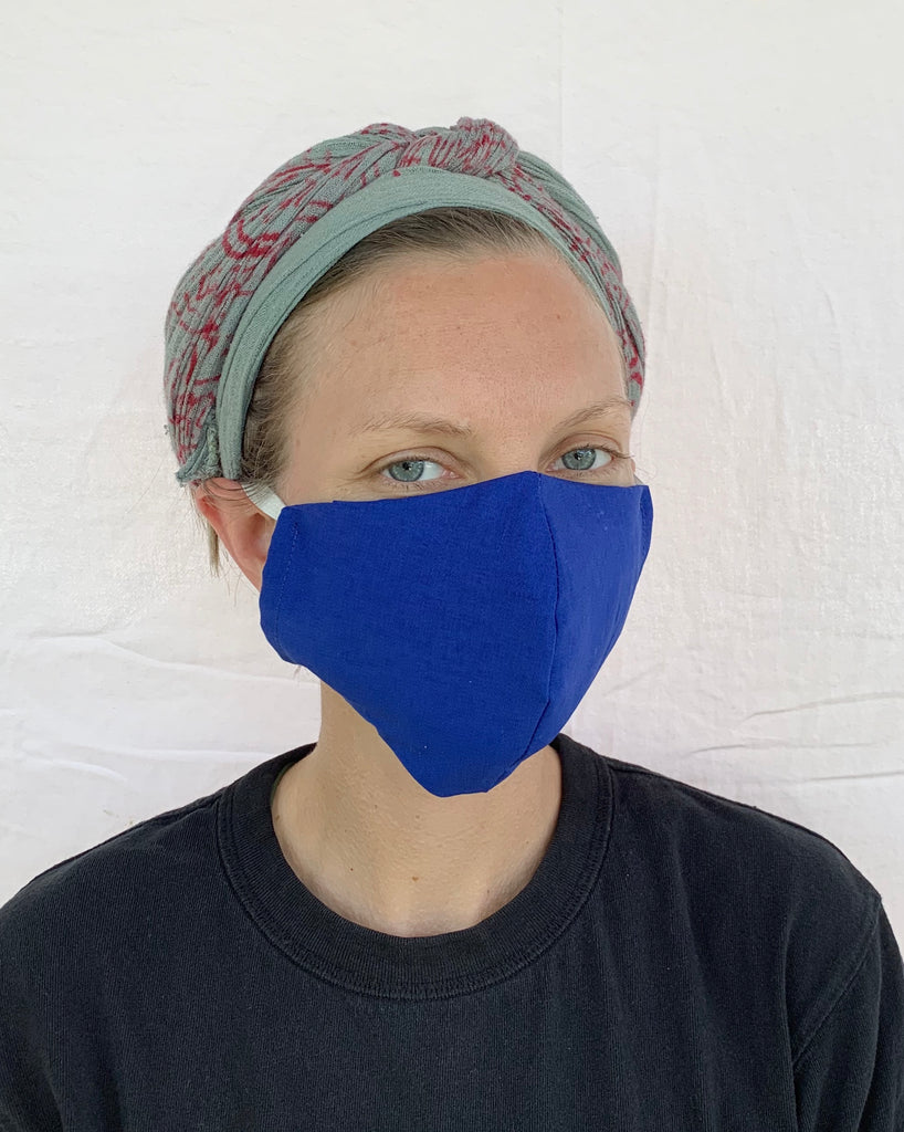 Face Mask with Large Filter Pocket