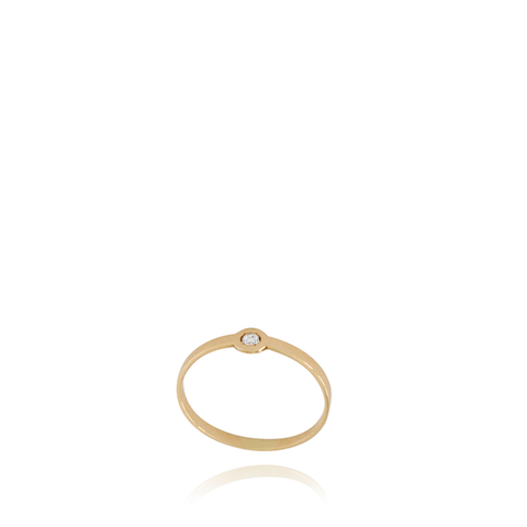 19.2K Gold Diamond Ring