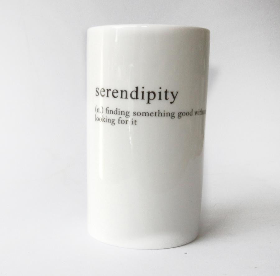 Serendipity Tall Jar