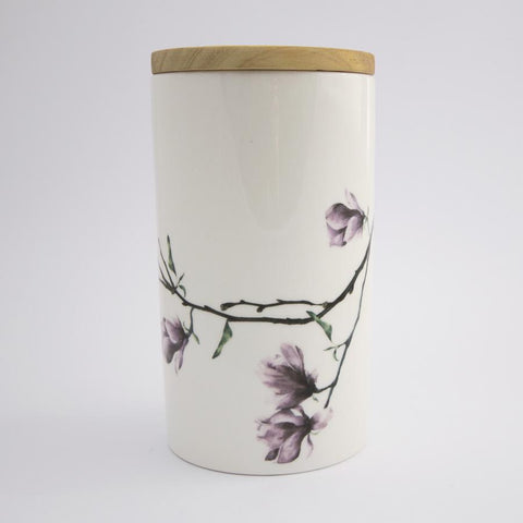 Magnolia Tall Jar