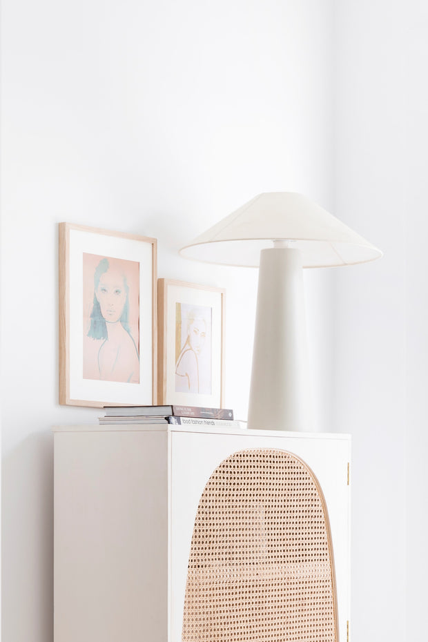 HK Living | Cone Lamp Base L Matt Mocha | House of Orange Melbourne