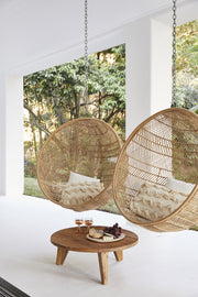 HK Living | Hanging Chair | Natural Bohemian Weave Rattan Bowl | HK Living | House of Orange Melbourne