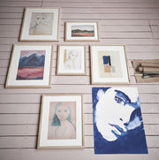 HK Living | Art Frame | by artist 'Tiny' Large Emma | HK Living | House of Orange Melbourne