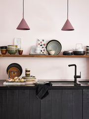 HK Living | Dinner Plate | Kyoto Ceramics: Rustic Black | HK Living | House of Orange Melbourne