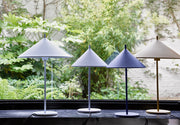 HK Living | Table Lamp | Metal Triangle Medium Cobalt | HK Living | House of Orange Melbourne