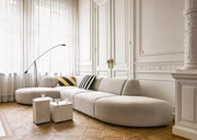 HK Living | Couch | Jax Element Left Corner Light Grey | HK Living | House of Orange Melbourne