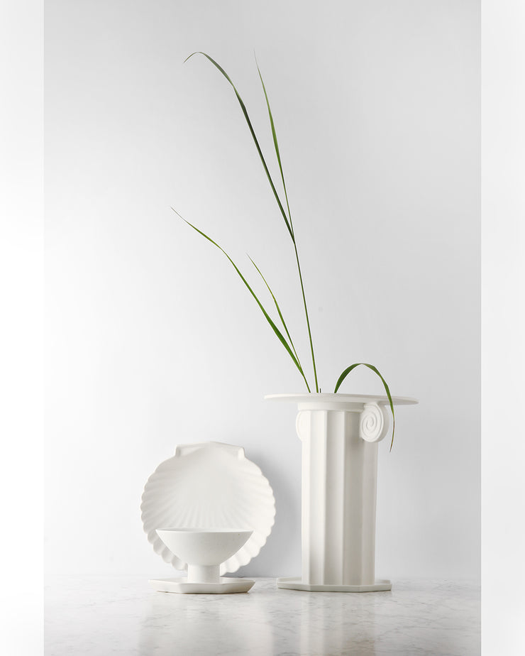 HK Living | Bowl on Base | Athena Ceramics: Bone China | HK Living | House of Orange Melbourne