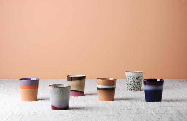 HK Living | Ceramic 70's Mug: Air | House of Orange Melbourne
