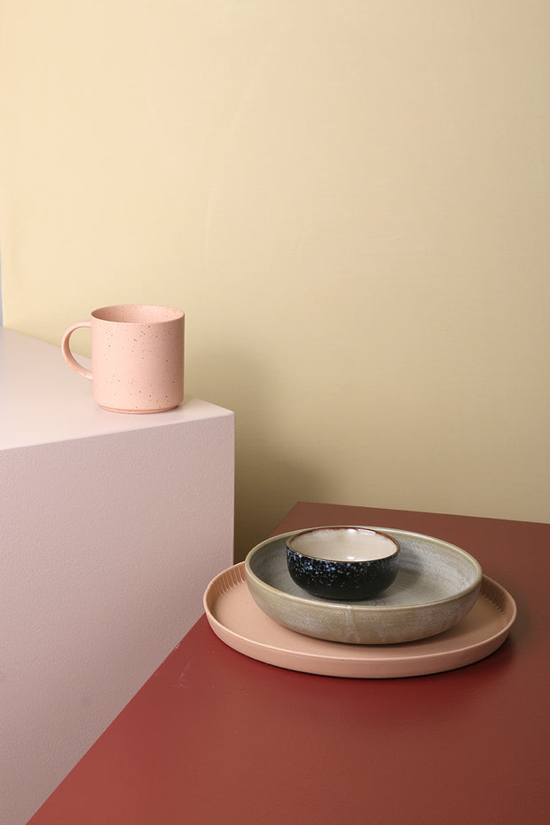 HK Living | Tray | Bold and Basic Ceramics Speckled Ceramic Peach | HK Living | House of Orange Melbourne