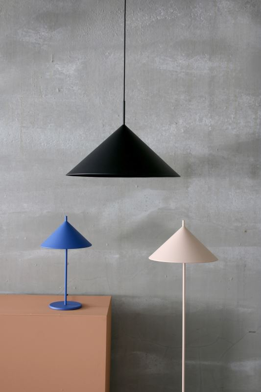 HK Living | Metal Triangle Floor Lamp Nude | House of Orange Melbourne