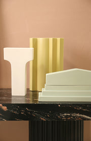 HK Living | Cornice Vase | Romina Gris; Roman | HK Living | House of Orange Melbourne