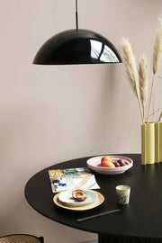 House of Orange | Cupola Acrylic Hanging Lamp Black | House of Orange Melbourne