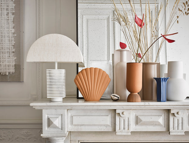 HK Living | Lamp Shade | Semicircle Large Natural Jute (Shade Only) | HK Living | House of Orange Melbourne