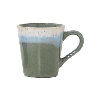 HK Old | 70's Ceramic Espresso Mug - Camouflage | House of Orange Melbourne
