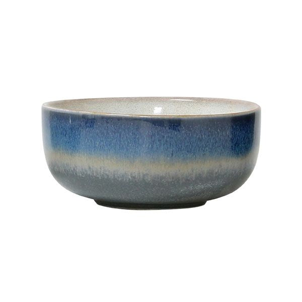 70s Ceramic bowl medium - Ocean