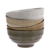 HK Living | Japanese Ceramic Noodle Bowls (set of 4) | House of Orange Melbourne