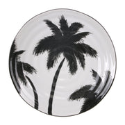 HK Living | Jungle Porcelain Serving Plate Palms | House of Orange Melbourne