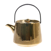 HK Living | Ceramic Tea Pot Gold | House of Orange Melbourne