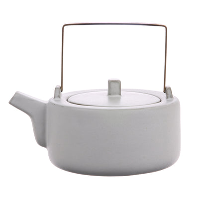 HK Living | Kyoto Ceramics Tea Pot White | House of Orange Melbourne