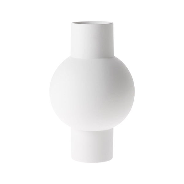 HK Living | Matt White Vase M | House of Orange Melbourne