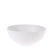 House of Orange | bold & basic ceramics: speckled bowl white | House of Orange Melbourne