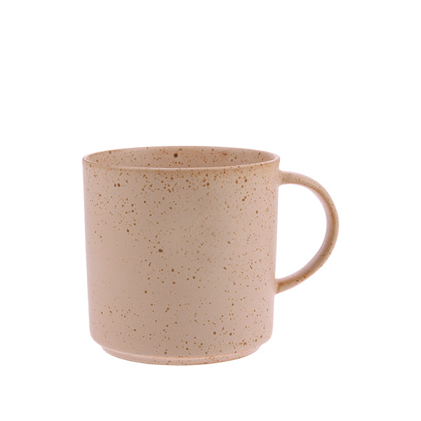 House of Orange | Bold & Basic ceramics: speckled tea mug nude | House of Orange Melbourne