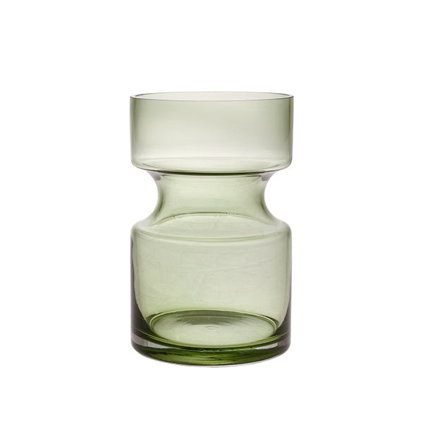 HK Living | green glass vase M | House of Orange Melbourne