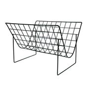 HK Living | Metal Wire Magazine Rack Matt Black | House of Orange Melbourne
