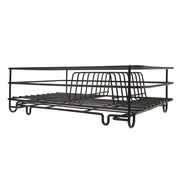 HK Living | Metal Wire Plate Rack Matt Black | House of Orange Melbourne